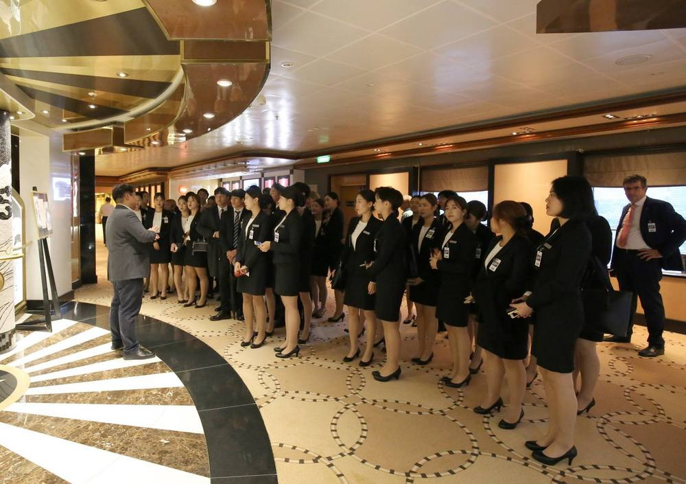 SIHOM Cruise Industry field trip to Busan on 12th Oct 2017.