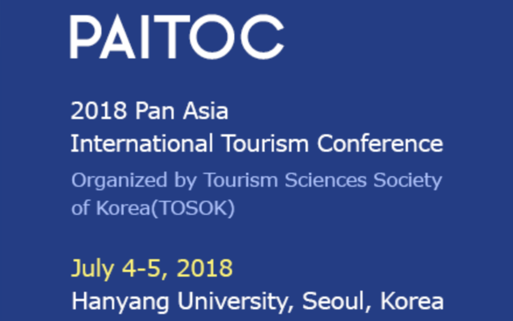 2018 Pan Asia International Tourism Conference (PAITOC 2018)